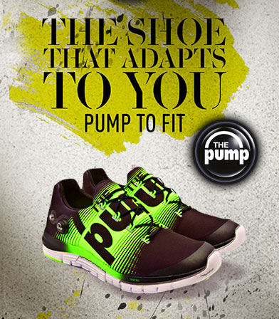 cf8c502fb791c9 MAP Active Reebok ZPUMP FUSION Revolutionizes Running With New Custom Fit  Technology