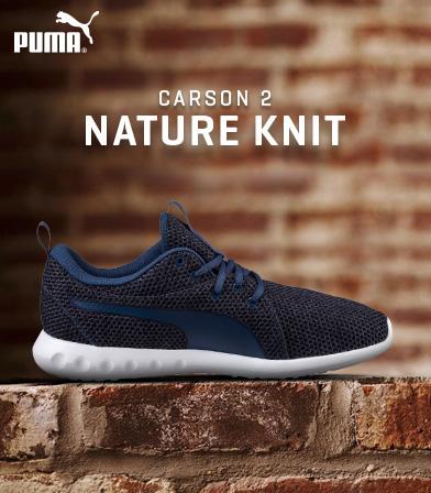 PUMA Women's Carson 2 Nature Knit Wn Sneaker
